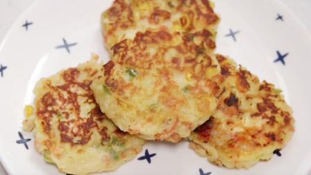 「爸比厨房」早餐来一份营养美味的土豆饼,带给你一天满满的活力