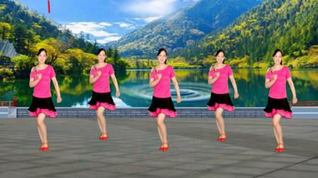 时尚恰恰广场舞32步《人生何处不相逢》优美大气,简单又好看