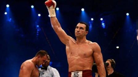 重量级拳击大战:小克里琴科首回合秒杀对手,几记轻描淡写的重拳