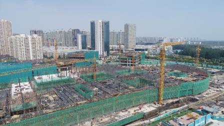 预计2019年年底完成主体封顶, 济宁市立医院建设速度蛮快的
