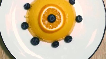 无需烤箱!柔软清甜的香橙蒸蛋糕,细腻绵软,保证你一学就会