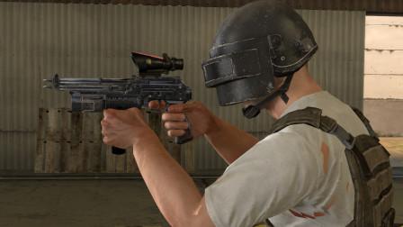 吃鸡动画:这是一把十字弩榴弹手枪,灭队变得轻而易举