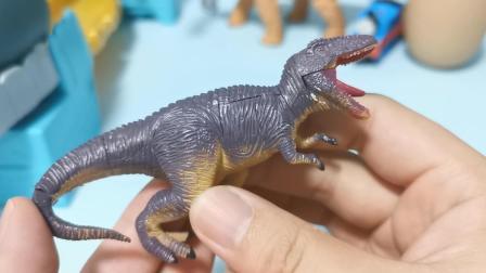 凶猛的特暴龙来啦!霸王龙的远亲,上肢小得很可爱