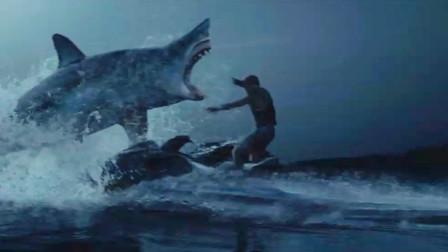 5米长的大鲨鱼,疯狂攻击人类,从此称霸小湖,开始为所欲为