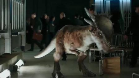 侏罗纪:欧文放出恐龙阻止拍卖会,现场乱作一团,捣乱成功!