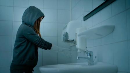 女孩遇到水身体就会消失,意外获得隐身超能力,一部科幻冒险电影