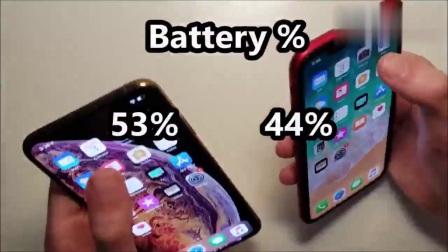 苹果xr电量显示,iPhoneXSMax与iPhoneXR电池寿命测试!
