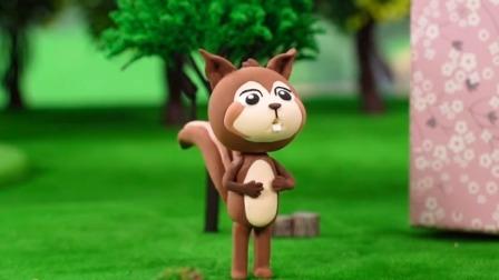 好奇的小松鼠