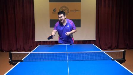 乒乓球正手怎样拉半出台球?半出台球前冲拉法有哪些技术动作要领