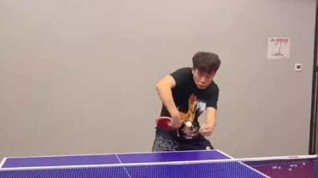 乒乓球教学:直板反手拧拉的几个小要领,你学会了吗?