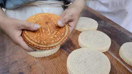 第三代传人!他做传统手工五仁月饼,用坏的模子有120多个