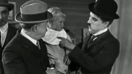 经典喜剧《马戏团》,卓别林把小孩子的面包给偷吃了!