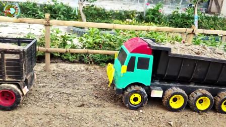 翻斗车自卸车玩具,施工车辆玩具,工地车辆玩具
