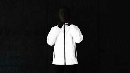 大学生历经6个月发明新型夹克,黑夜里会反光,还能防水