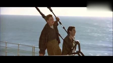 泰坦尼克号:全速前进的泰坦尼克,太壮观了,可惜了!