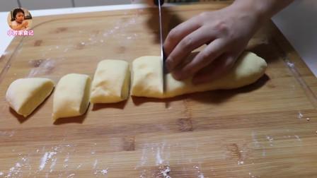 今天做个鸡腿面包,做法简单,不用烤箱就能做出美味的烤面包