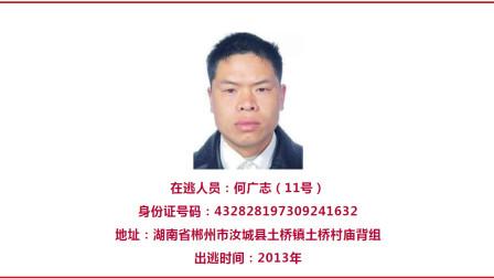 总赏金120万!湖南12名涉嫌杀人逃犯被悬赏通缉 警方公布嫌犯照片