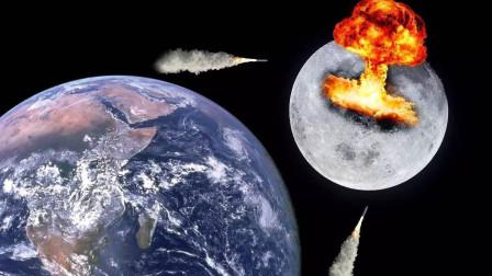 登月有多难?刚刚13亿大国举国落泪,该国却计划15000吨核弹炸月球