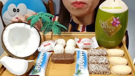 国外吃播:吃播巧克力、薄饼等美味零食,咀嚼声好馋人!