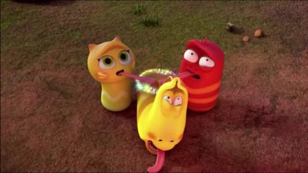 爆笑虫子:黄虫下半身被打肿,火山神奇地熄灭了