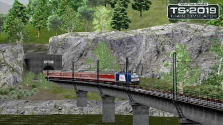 火车模拟2019 - 成昆线 #4:途径乃托展线 驾驶HXD3C牵引K146次列车开往甘洛 | Train Simulator 2019