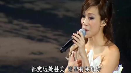 林忆莲含泪唱完这首经典情歌,你是否和我一样听到落泪!