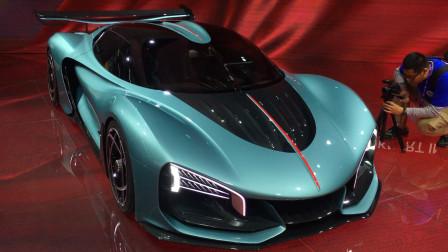 太猛了零百加速只要1.9秒 红旗S9超跑概念车首发