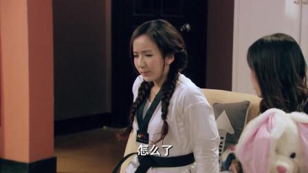 """胡一菲腰扭伤,曾小贤还说风凉话,一菲姐:""""信不信我照样放倒你?"""""""