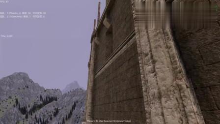 战争模拟器 皮卡丘发射激光,怪兽哥莫拉被打得不敢下楼