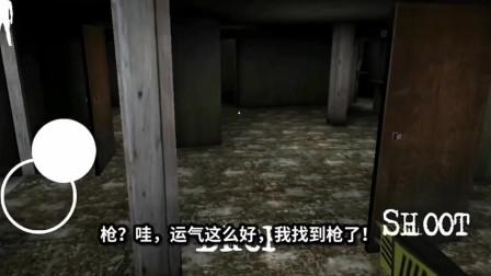 恐怖奶奶2:地下室里捡到一把电击枪,上去给爷