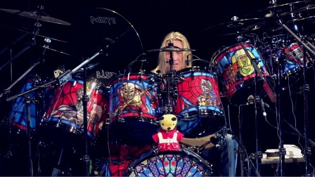 ★ME威律动★An evening with Iron Maiden Drummer Nicko McBrain