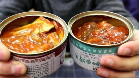试吃国产鲱鱼罐头,没想到让人回味无穷,颠覆了我的认知