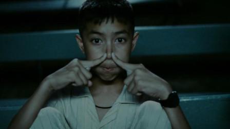 泰国恐怖电影,在看电影的时男孩闭气,身边的同学都不见了