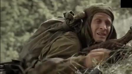 苏联特种兵伏击德军运输线,摧毁纳粹新式 -