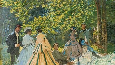绘画常识课:不可不知的20幅世界名画 《草地上的午餐》带来的一场绘画革命