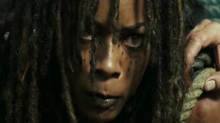 加勒比海盗:海之女神被释放,一下就长到几十米,还变成螃蟹走了
