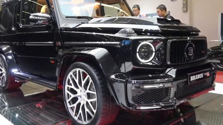 1280万的奔驰巴博斯G900亮相,打开车门后,才是惊艳的开始