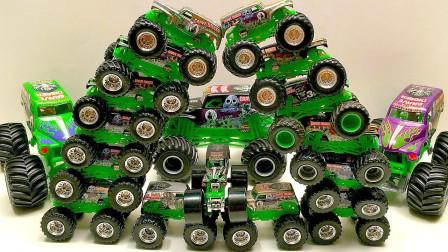 100辆汽车玩具!它们可以拼成你意想不到的形状,不信你看