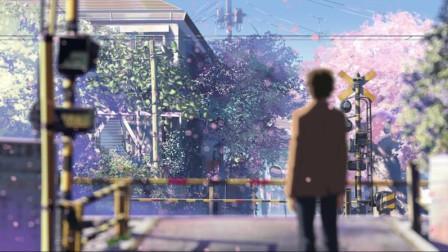 《秒速五厘米》呐,你知道吗?樱花飘落的速度是秒速五厘米,这时他们发现了彼此