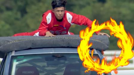 《中国达人秀》户外极限飞车秀!堪比速度与激情,太燃了