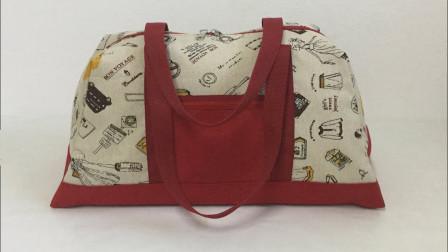 「时尚针织」手工布艺时尚包包