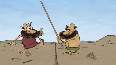 疯狂原始人:绿裤衩和红裤衩引发战争,打的非常激烈,都很惨烈
