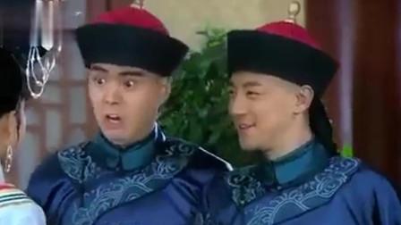 还珠格格:小燕子本想吓唬皇上假装撞墙,结果真撞了,皇上懵了