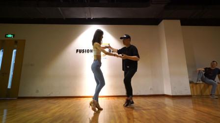 双人舞巴恰塔中级课程,更多引带技巧、旋转技巧学习