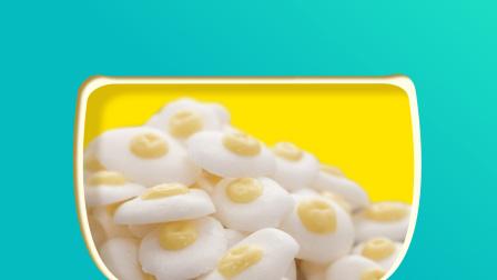 芽芽yoo辅食 10个月宝宝辅食 奶香浓郁的荷包蛋溶豆 颜值满分的哄娃神器
