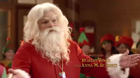 小人国欢度圣诞节,圣诞老人还欢快跳舞,看着都开心