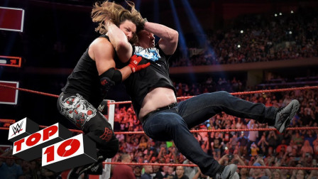 【RAW 09/09】十大精彩瞬间 史蒂夫奥斯丁空降,对AJ亮出正版断头台