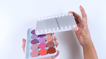 化妆镜怎么选?转为妹子们打造的便携式照明化妆镜,来了解一下吧