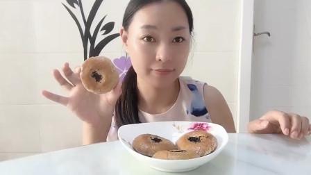 生活条件好了,更要吃粗粮,菠萝姐姐分享无糖粗粮烤饼的做法