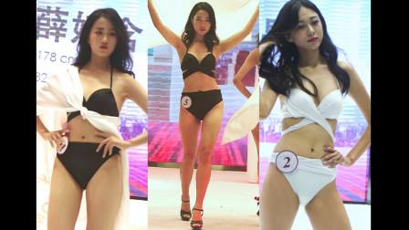 2019亚洲品牌小姐大赛泳装秀2